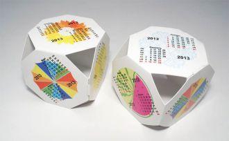 Календарь кубик
